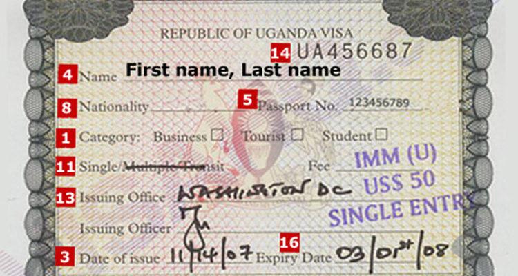 Uganda Tourist Visa